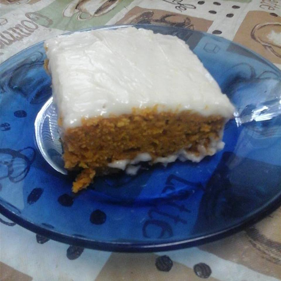 Iced Pumpkin Spice Cake