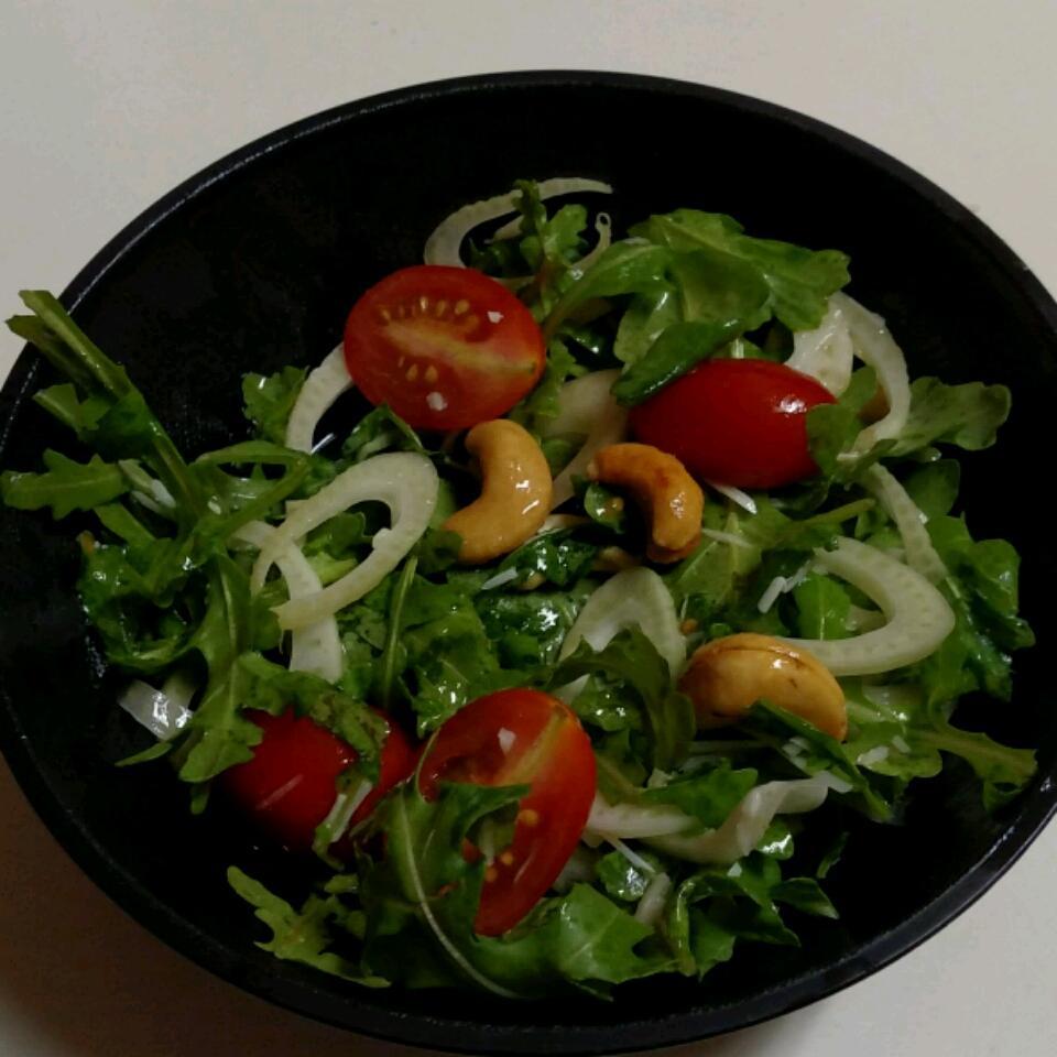 Arugula-Fennel Salad mags