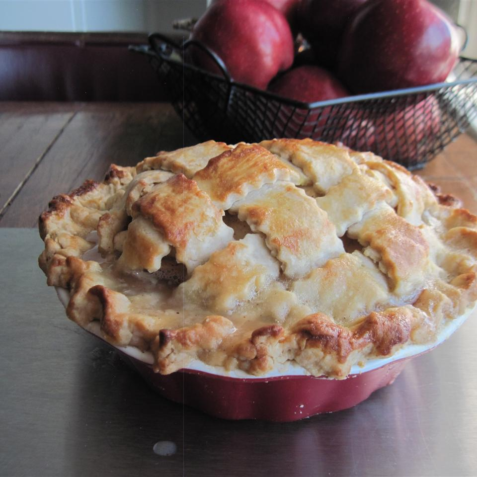 "No international pie list would be complete without an all-American favorite: apple pie like dear old mom used to make. This version has a secret ingredient that might surprise you (okay, it's a touch of whisky in the filling) and it's earned rave reviews like this one from Allrecipes home cook SportyRider: ""The pie was absolutely wonderful. That's saying a lot since I grew up on an orchard in a town known for its fantastic apple pies."""