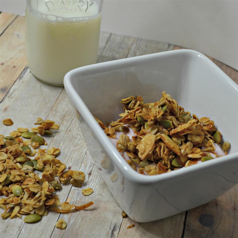 Honey-Almond Seeded Granola