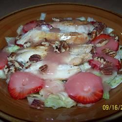Grilled Chicken Salad with Seasonal Fruit Holly