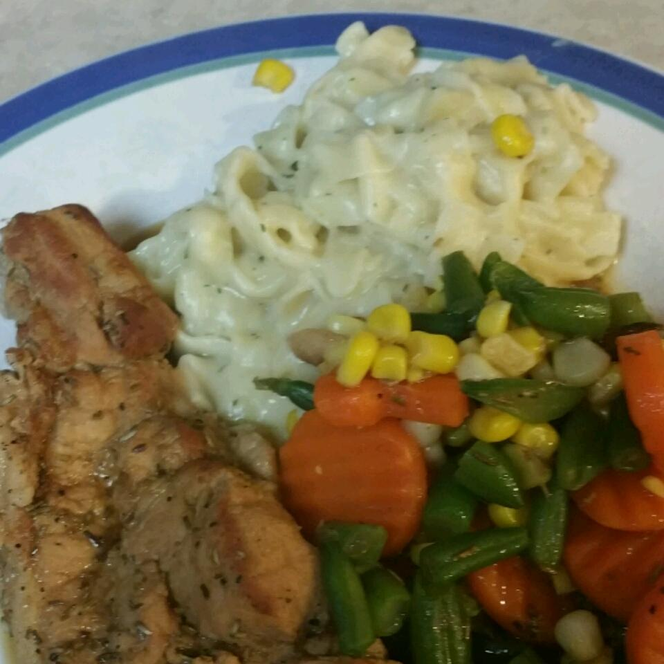 Rosemary and Garlic Simmered Pork Chops Vincent DiNardo