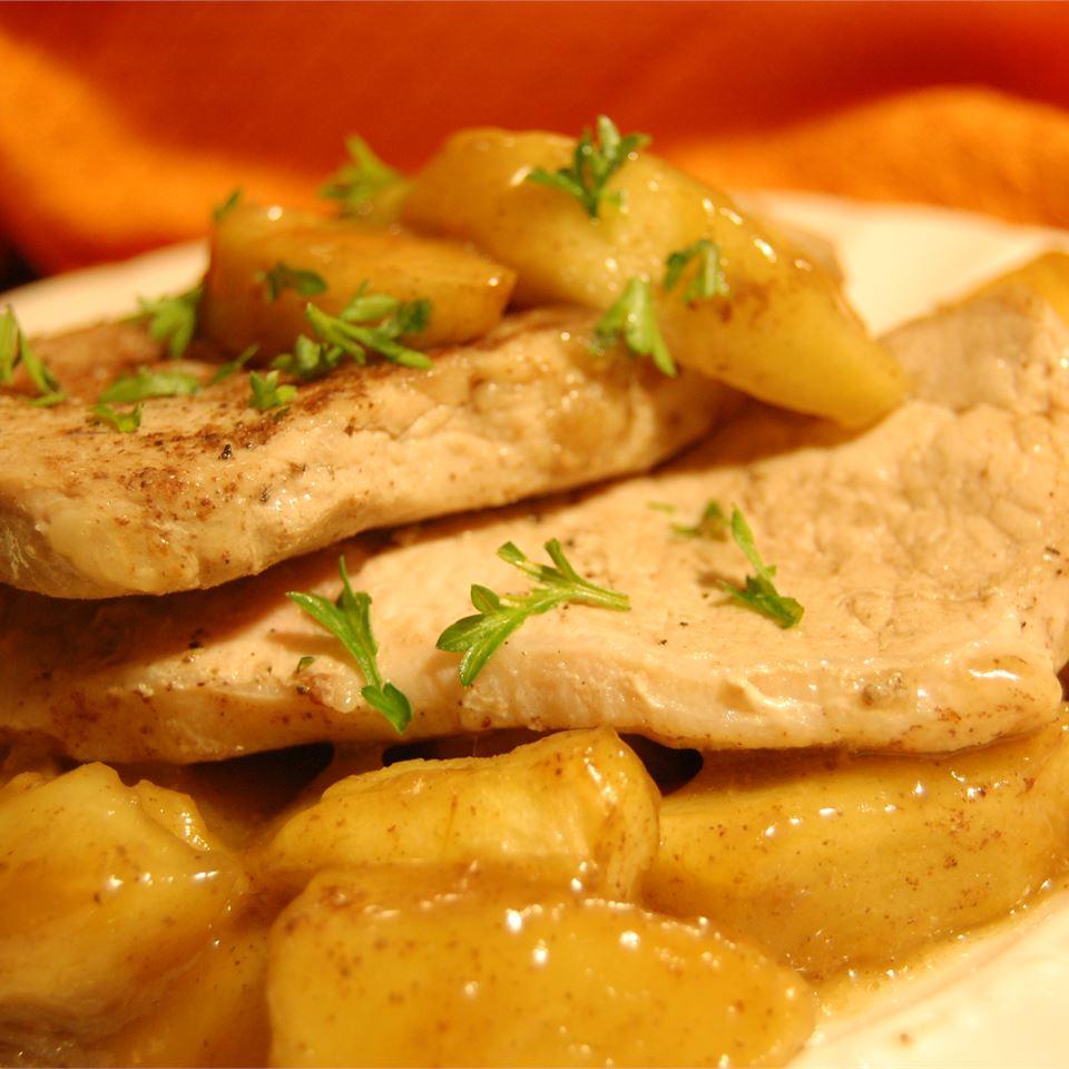 Sherry Apple Pork Chops CHRISTYJ
