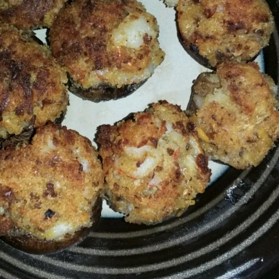 Crab and Lobster Stuffed Mushrooms Ferdinand Borrero