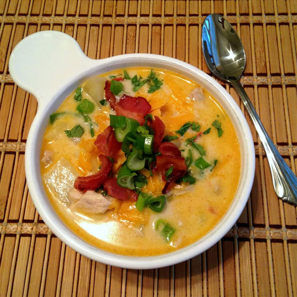 Southwestern Chicken and Corn Soup