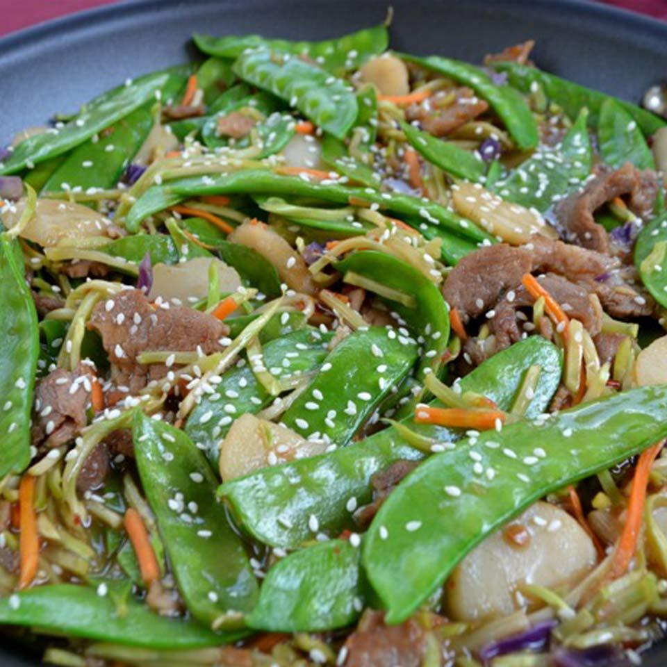 Ginger Pork and Vegetable Stir-fry