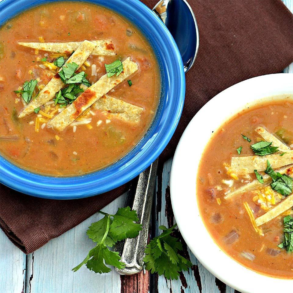 Fiesta Refried Bean Soup