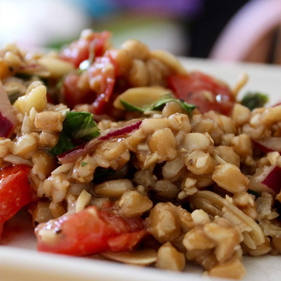 Caprese Farro Salad Allrecipes Trusted Brands