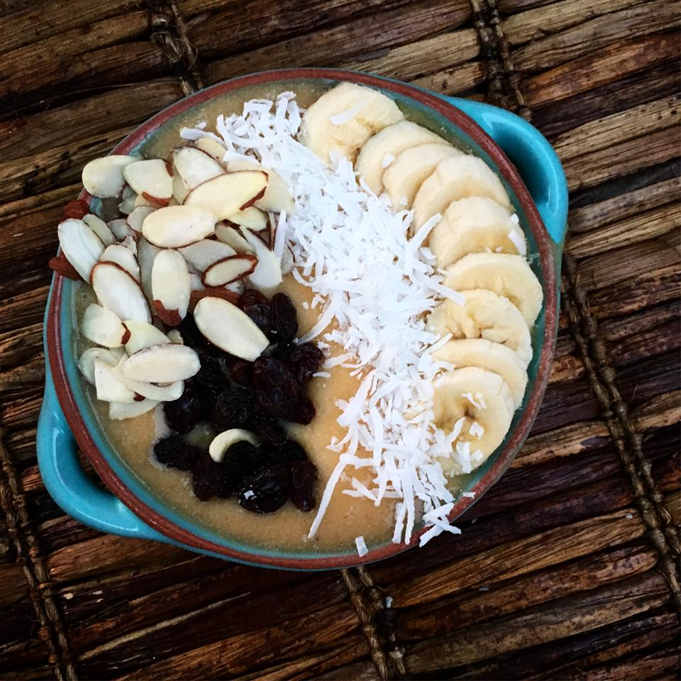 Banana Coconut Smoothie Bowl Alli Shircliff