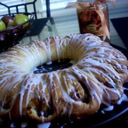 Swedish Tea Ring with Pecans