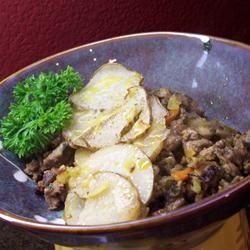 Serbian Ground Beef, Veggie, and Potato Bake Traci-in-Cali