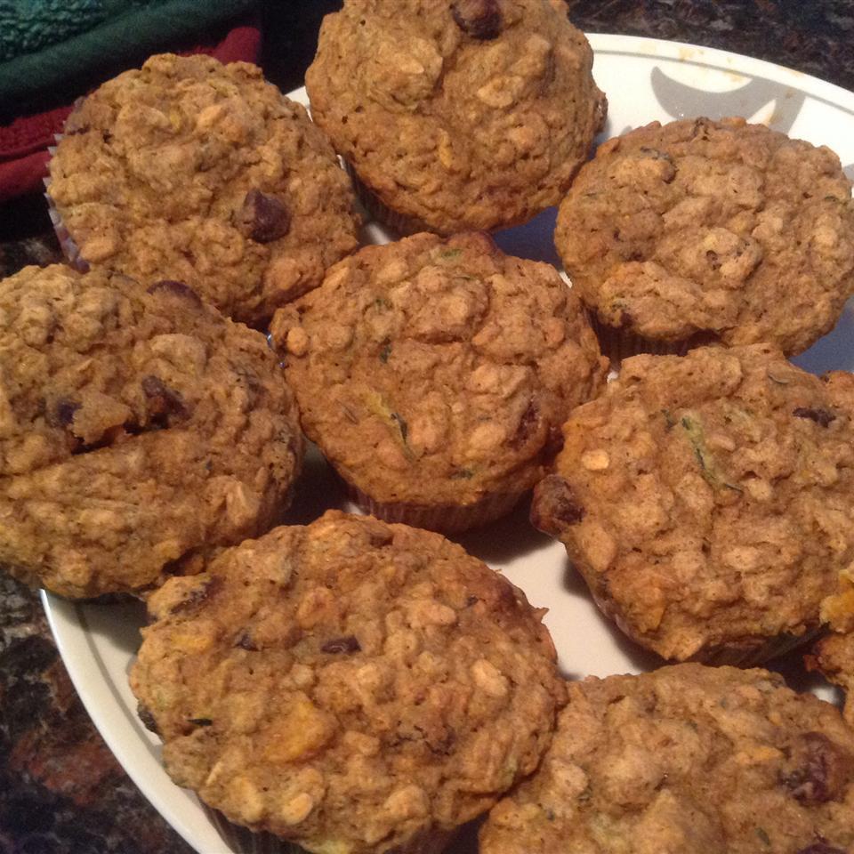 Healthy Pumpkin Zucchini Muffins OzzyGirlSea