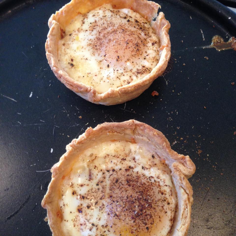 Bacon and Egg Breakfast Tarts Woodrow