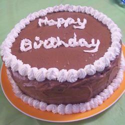 Chocolate Chocolate Chip Dream Cake Rae