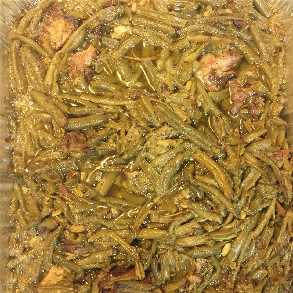 Down-South Style Green Beans Shelita