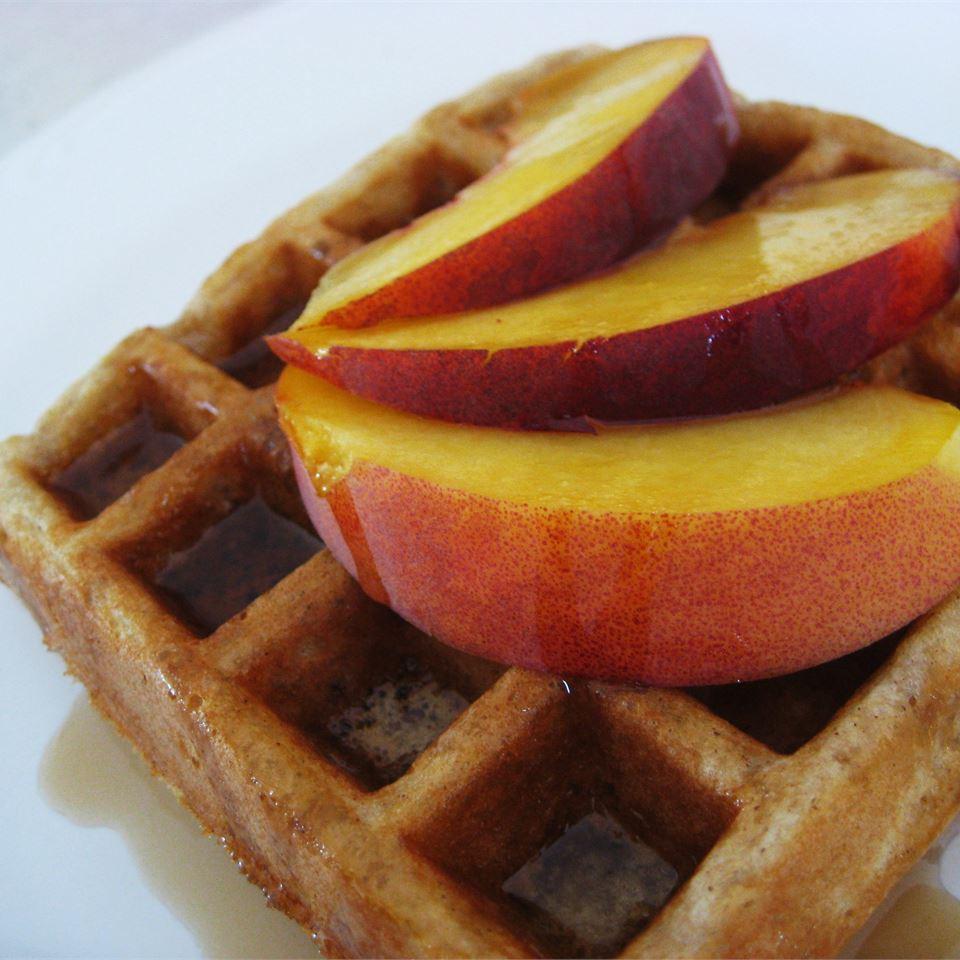 Cinnamon Belgian Waffles Stephanie Knewasser