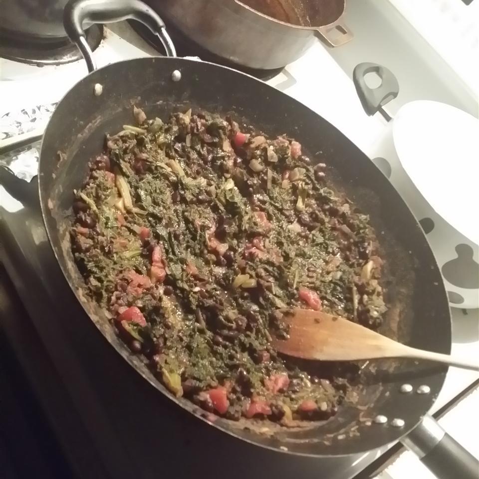Bean and Kale Ragu Tonya Chambers-Wilson