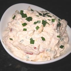The Best Bacon-Tomato Dip mommyluvs2cook