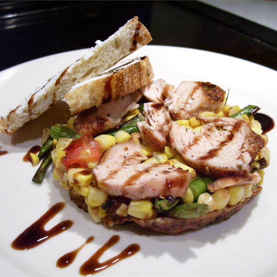 Summer Corn Salad with Asparagus Food Fan