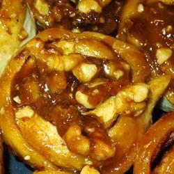 Grandmother Stougaard's Caramel Pecan Sweet Rolls ladybuggs5224