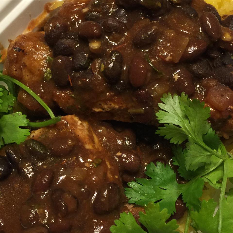 Black Beans and Pork Chops