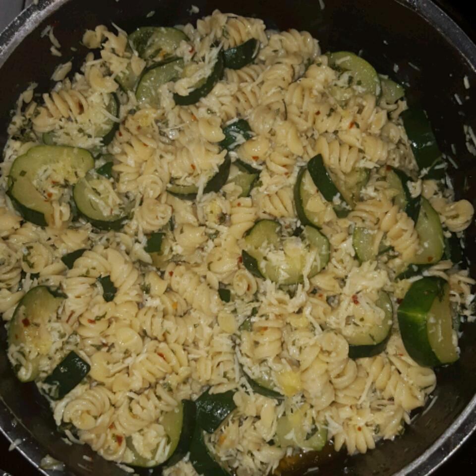 Zucchini Pasta MzBrownEyez