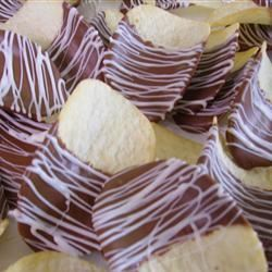 Chocolate Covered Potato Chips Christina