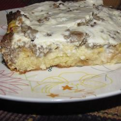 Three Cheese Breakfast Bake