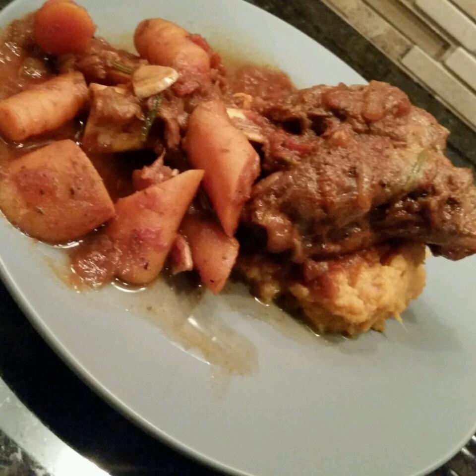 Rosemary Braised Lamb Shanks joshcookin