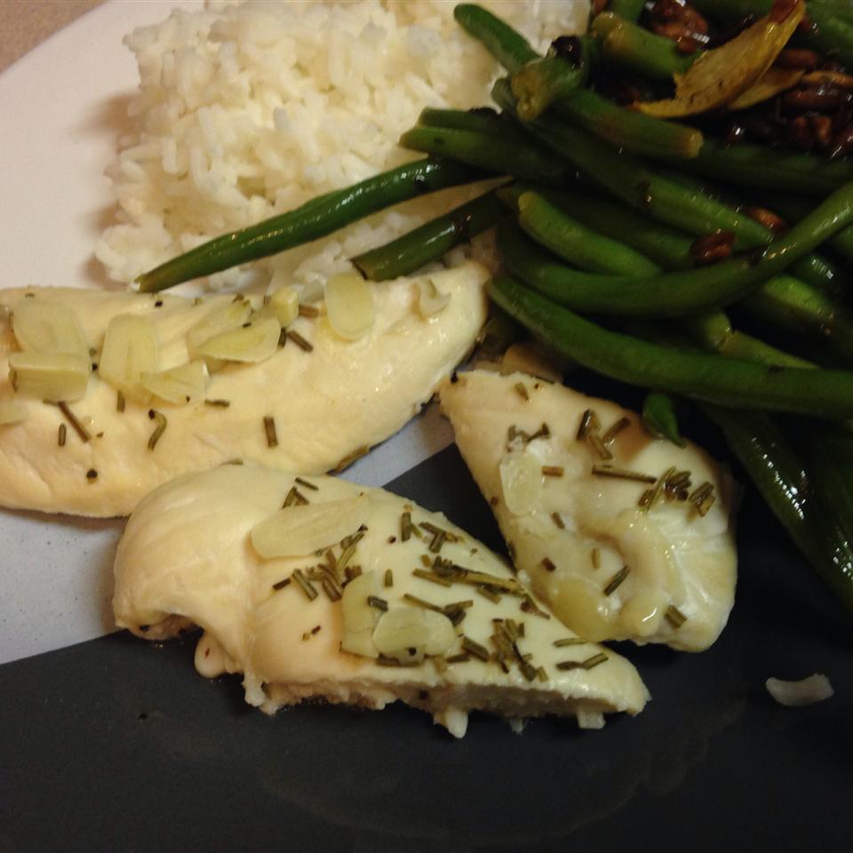 Easy Garlic and Rosemary Chicken