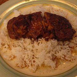 Spiced Plum Pork Chops