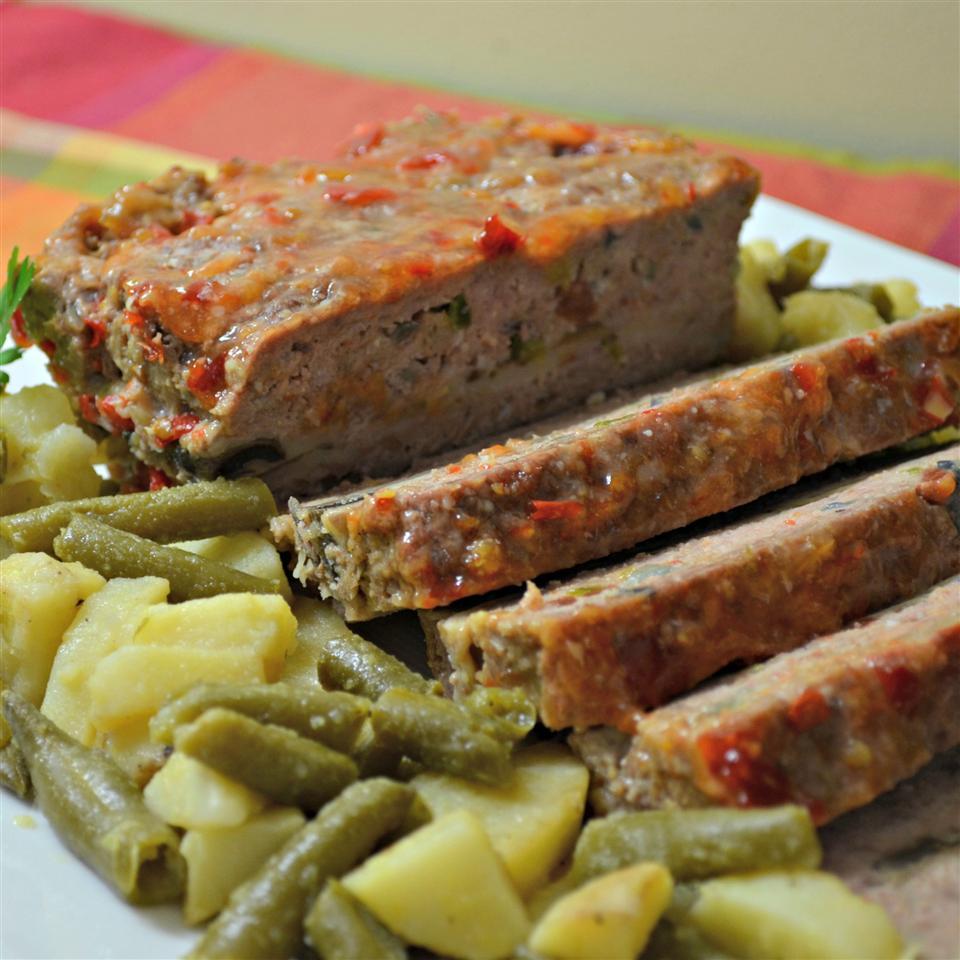 Mushroom and Swiss Burger Meatloaf