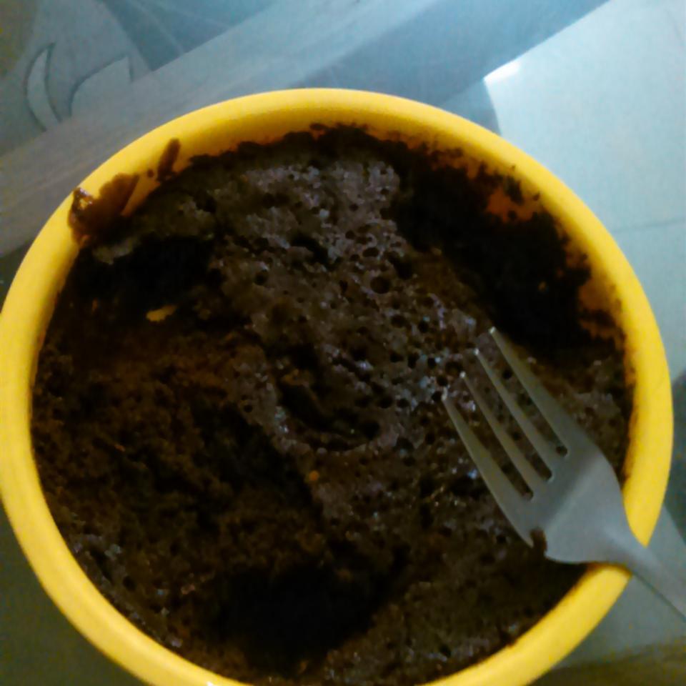 Easy Microwave Chocolate Cake