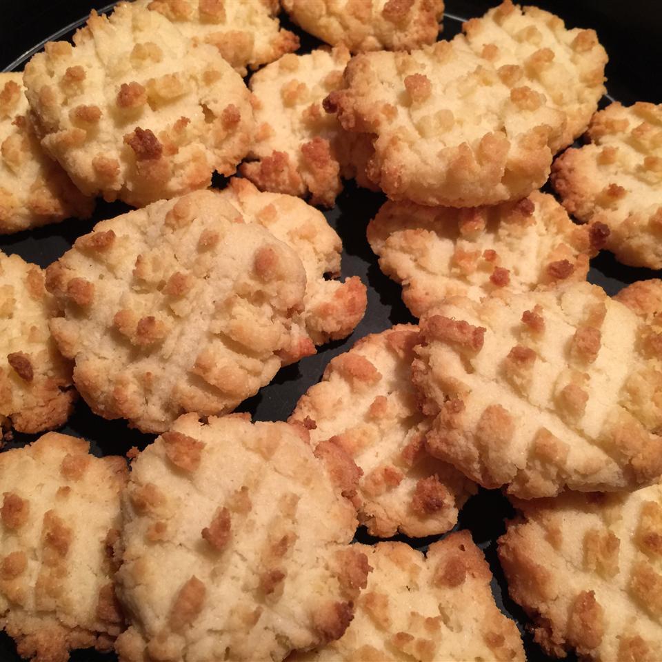 Gluten-Free Coconut Flour Shortbread Cookies