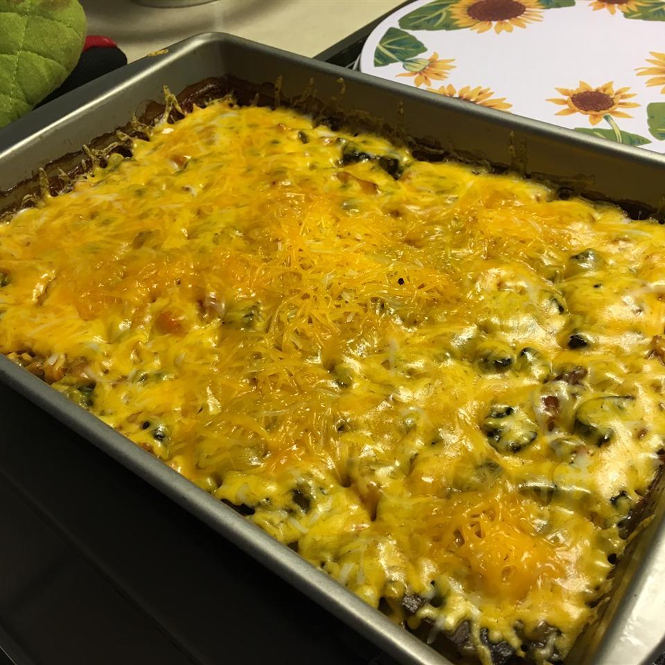 Super Veggie Chicken and Wild Rice Casserole Linda Black
