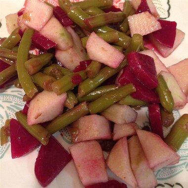 beet bean and apple salad recipe