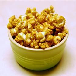 Microwave Caramel Popcorn Ckandi007