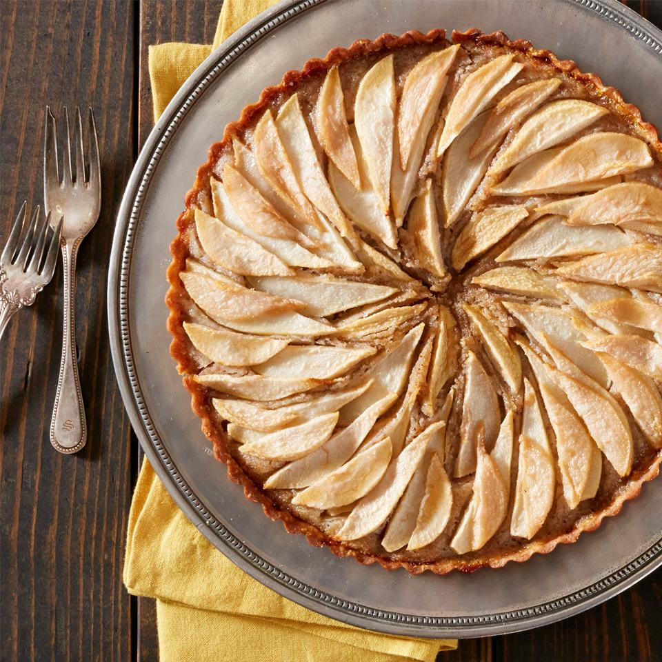 Pear and Hazelnut Frangipane Tart Trusted Brands