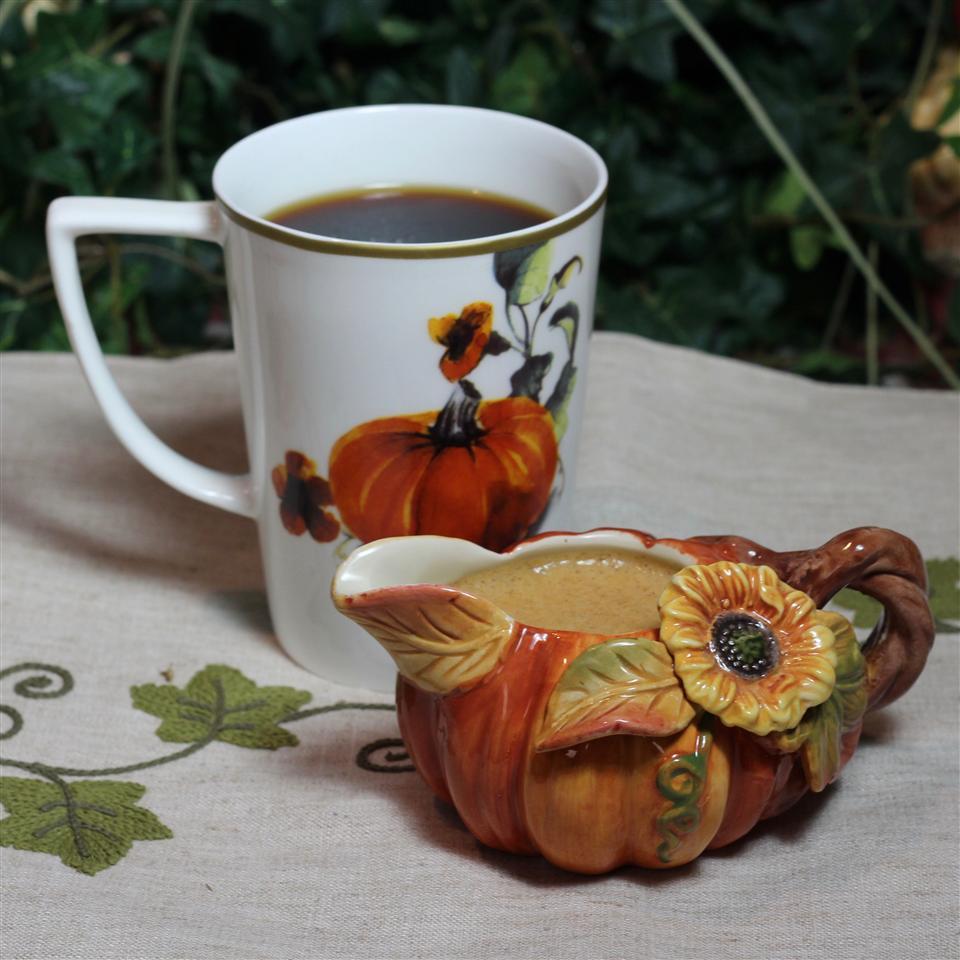 Clean-Eating Pumpkin Spice Coffee Creamer