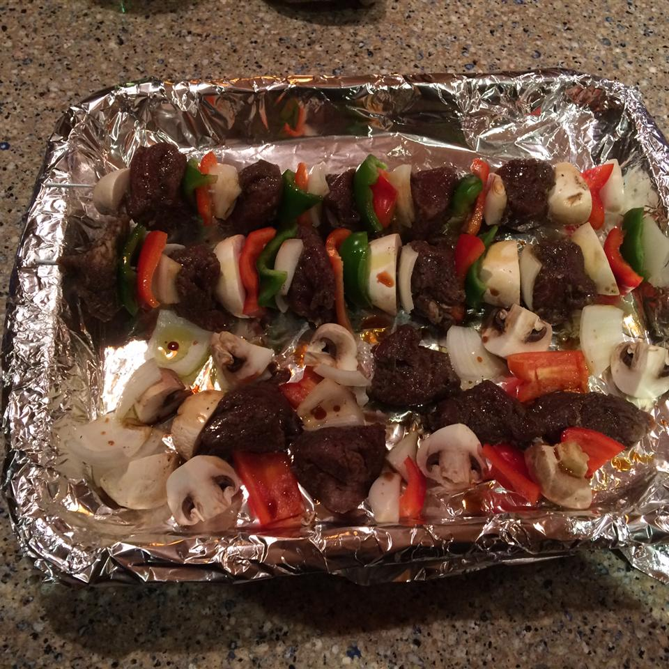 Awesome Spicy Beef Kabobs OR Haitian Voodoo Sticks Jerry Fogarty