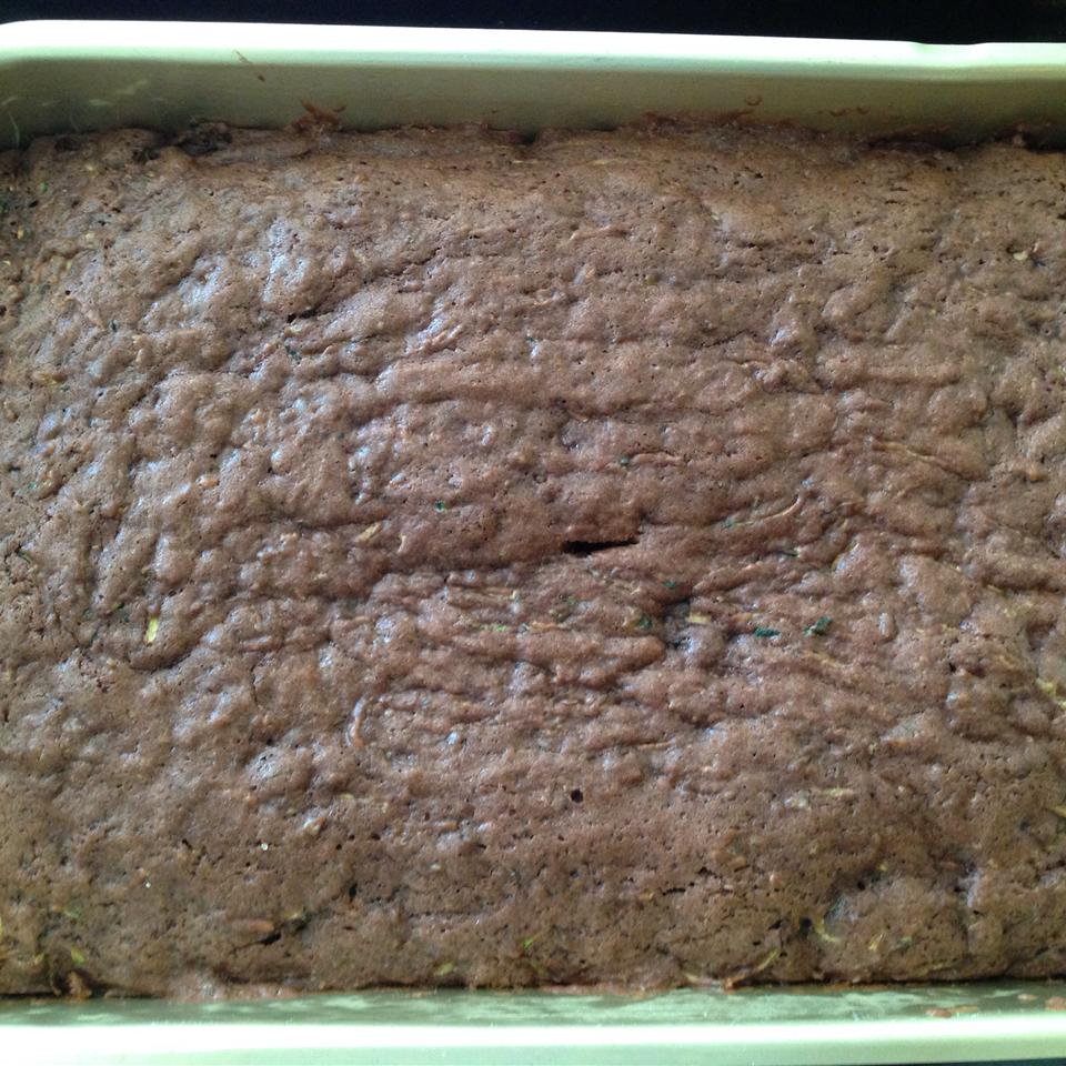Grandma's Chocolate Zucchini Brownies paro