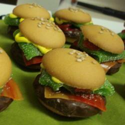 No Bake Deluxe Hamburger Cookies Noreen Rodriguez