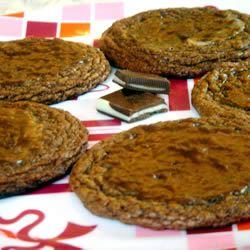 Chocolate Mint Cookies I