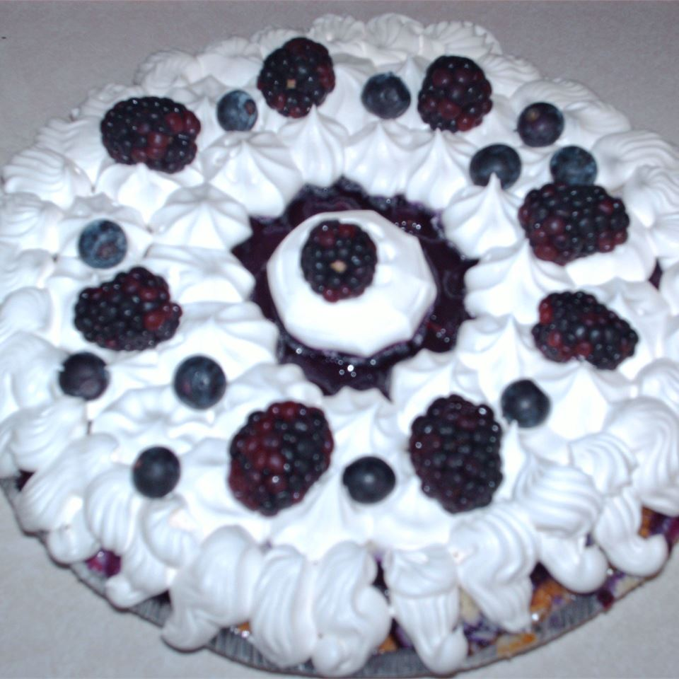 Blueberry Cheesecake Pie cmsassman