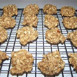 Honey Oatmeal Cookies