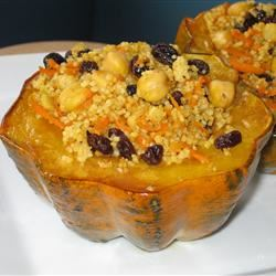 Moroccan-Style Stuffed Acorn Squash Fit&Healthy Mom