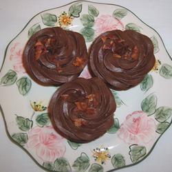 Dark Chocolate Bacon Cupcakes Mallinda