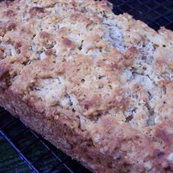Honey Oat Beer Bread pomplemousse