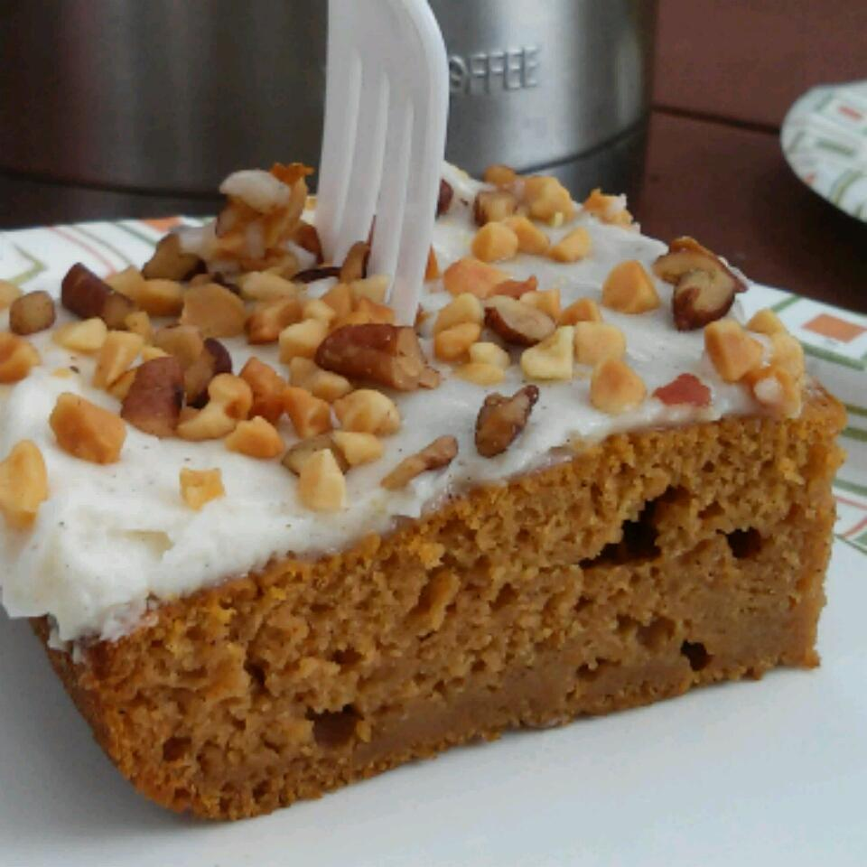 Pumpkin Sheet Cake Susanne C.