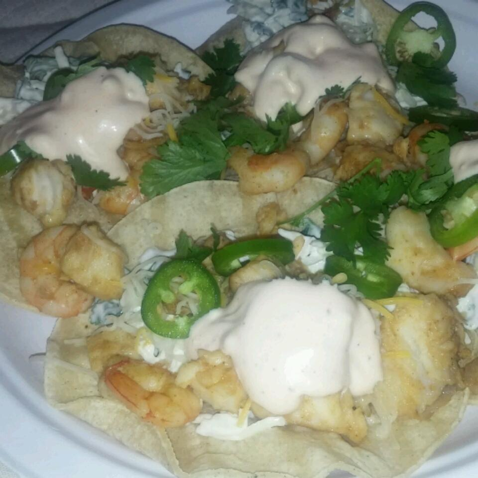 Baja Fish Tacos from KRAFT® E. Emi